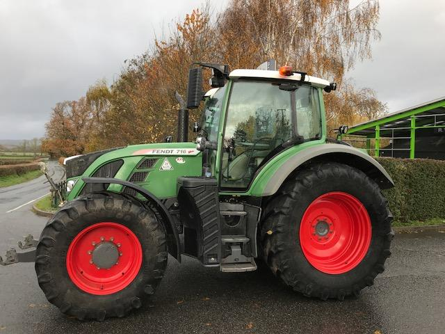 Fendt 716 SCR Tractor c/w
