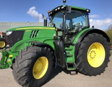 John Deere 6215R 50KM AQ, Fronthef pto, TLS, HCS, AT ready!!!