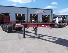 Montracon LOCK AND GO SLIDING SKELETAL TRAILER - 2007 - C243282
