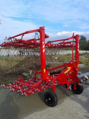 Agro Factory Brona Chwastownik JZAK 3m AF3 / Field Cultivator Meadow
