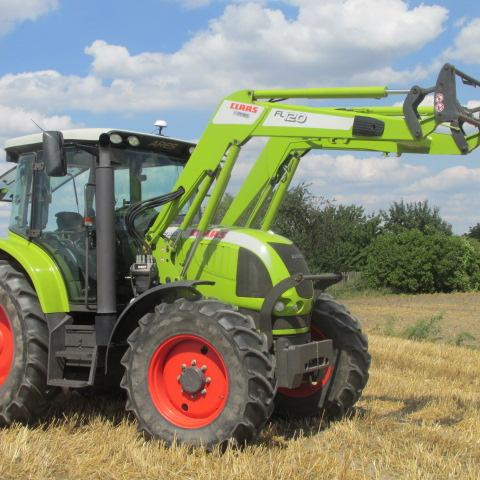 Claas Ares 557 ATX