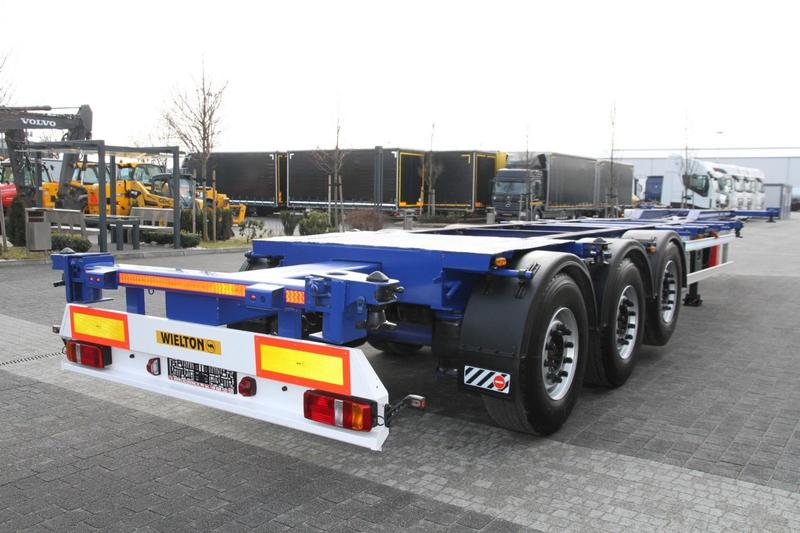 CONTAINER CHASSIS SEMI-TRAILER 3 AXLES BODEX KIS