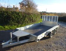 Ifor Williams GX126 PLANT TRAILER