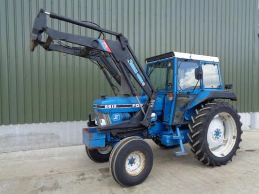 Used Ford 6610 2WD C/w Quicke Loader
