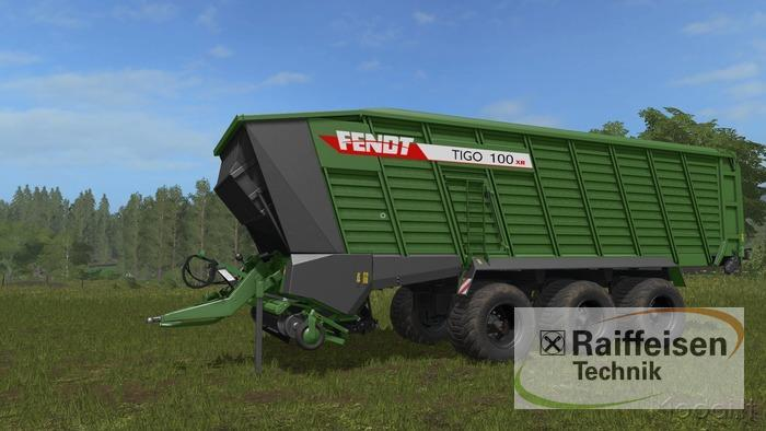 Fendt Tigo 100 XR