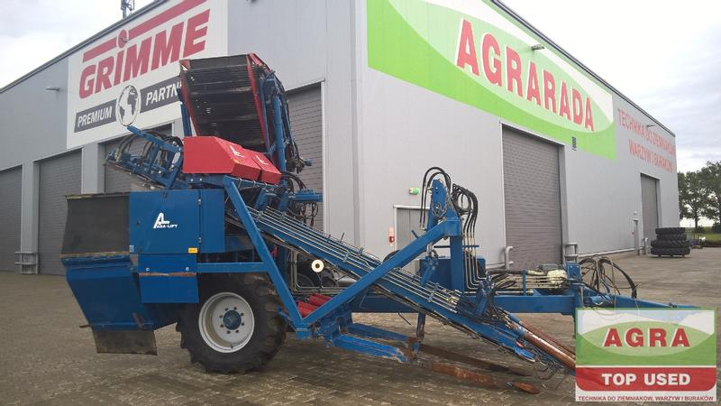 Asa Lift 2-row Carrot harvester T200, Möhrenroder, kombajn do marchwi