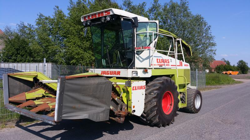 Claas 695 Mega Allrad / opt. Pickup