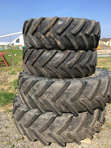 Michelin 520/85R46 Michelin + 480/70R34 Alliance