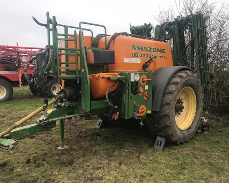 Amazone UG 3000 24M Trailed Sprayer (JA)