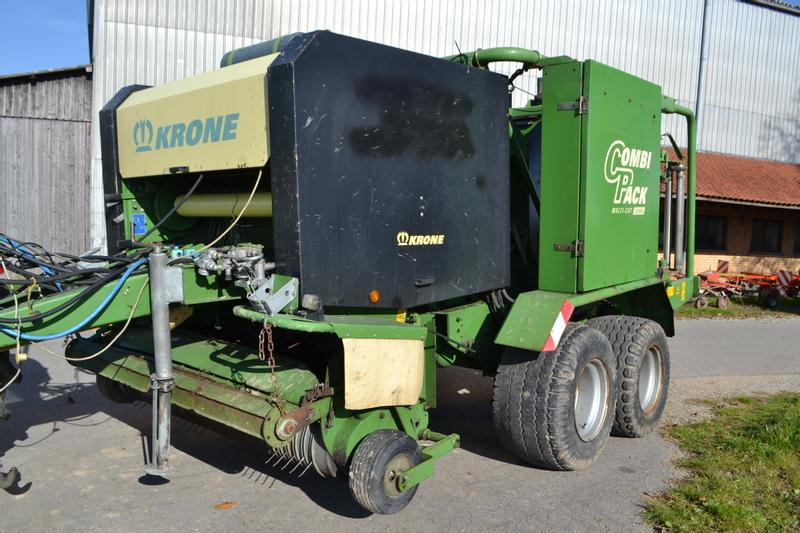 Krone Combi Pack 1250 MC Multi-Cut - Press-Wickel-Kombination
