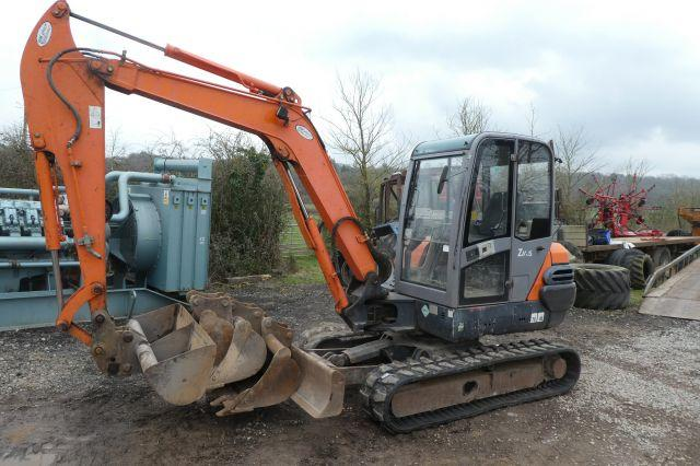 Hitachi ZX50 TRACKED DIGGER