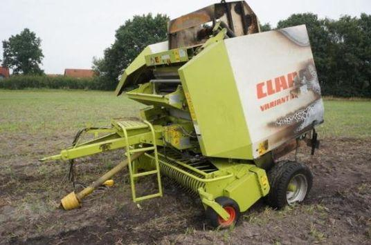Claas Variant 180 siatka rotor zebatka podbieracz silownik walec wał  for breaking only for parts