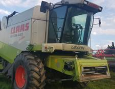Claas Lexion 450 Evolution, Brandschaden