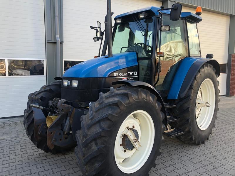 New Holland TS110  KRUIP  FRONTHEF&PTO