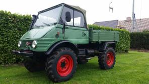 mercedes benz unimog 421 cabrio traktoren gebraucht in. Black Bedroom Furniture Sets. Home Design Ideas