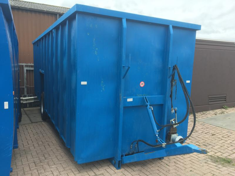 ZHE Mestcontainer RVS 45m3
