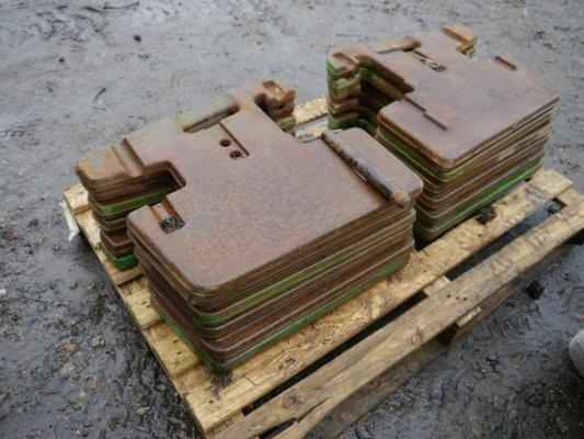 John Deere  Front Weights