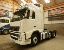 Volvo FH GLOBETROTTER XL 500 EURO 5, 6 X 2 TRACTOR - 2012 - GK62 VKD