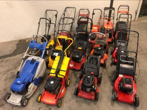 Lot of lawn mowers Stiga, Yamaha, MDT, Castle Garde