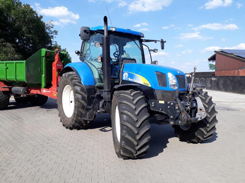 New holland traktor gebraucht traktorpool