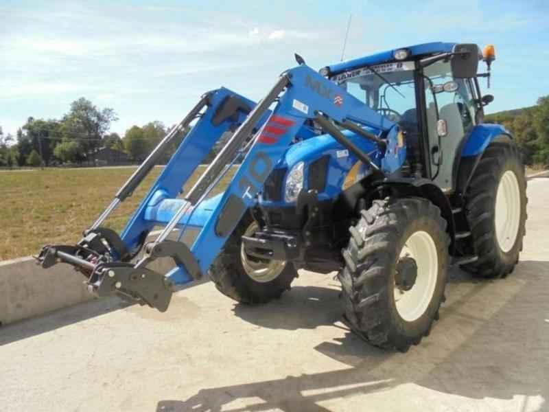 New Holland T 6020 Elite + T 10