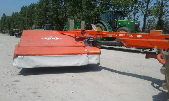 Kuhn FC 303 YGL Trailed Mower Conditioner