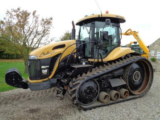 Caterpillar Used Cat Challenger MT765