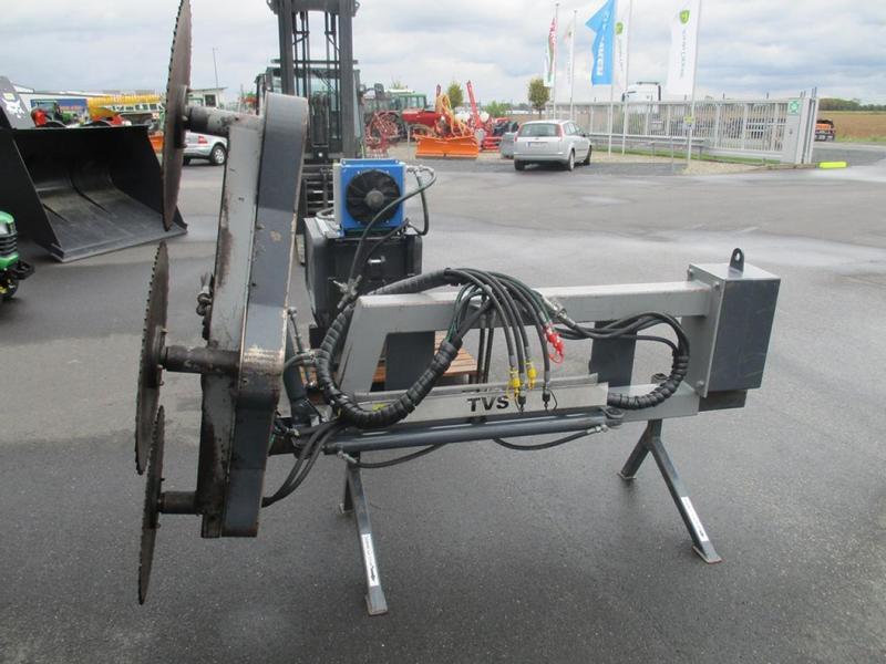 Traktor hydraulisch Astsäge Jansen AS-600 Hochentaster Astschere Frontlader