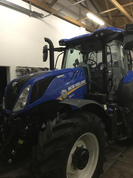 New Holland T6.165 Autocommand