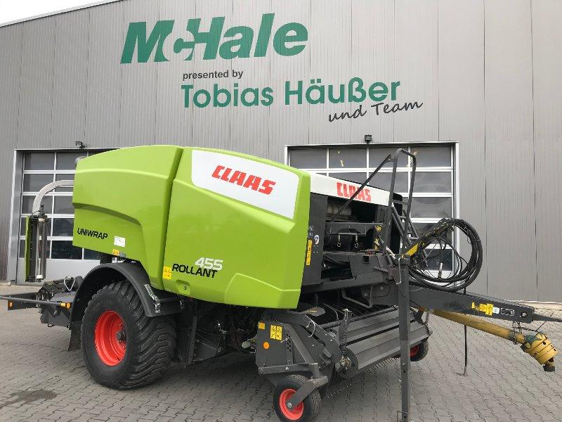 Claas 455 Rollant Uniwrap mit MPS