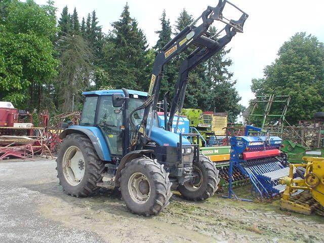 New Holland TS90, 4x4, Stoll HDP 30 , Getriebeprobleme