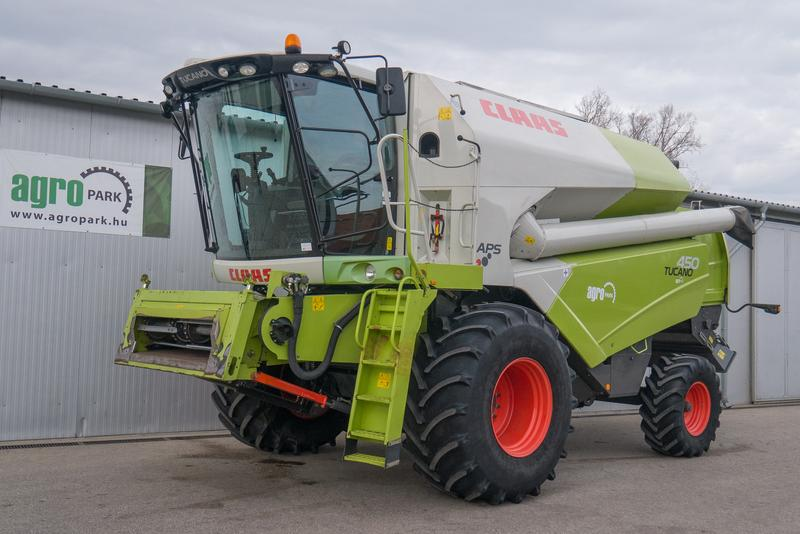 Claas Tucano 450 APS (1536/2647 BStunden)