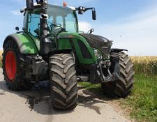 Fendt 724 Profi Plus Trimble RTK Sektion Controll