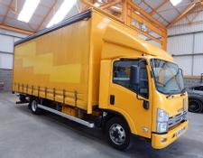 Isuzu FORWARD N75.190 7.5 TONNE CURTAINSIDER - 2013 - LM63 OBN