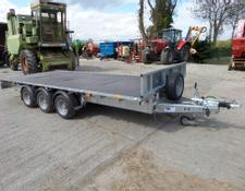 Ifor Williams LM166 16FT FLAT BED TRAILER
