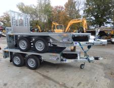 Ifor Williams GX84 RAMP PLANT TRAILER