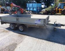 Ifor Williams IFOR WILLIAM LM1260 12FT FLAT BED TRAILER