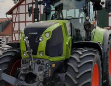 Claas Axion 810 Hexashift