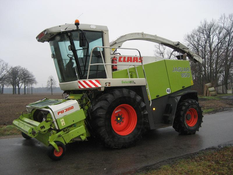 Claas Jaguar 850 Speed Star