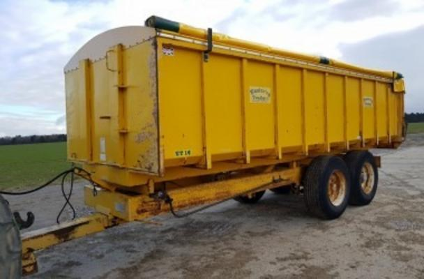1996 EASTERBY ET14 GRAIN TRAILER