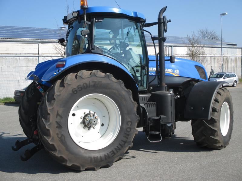 New Holland T 7.250 Power Command Side Winder