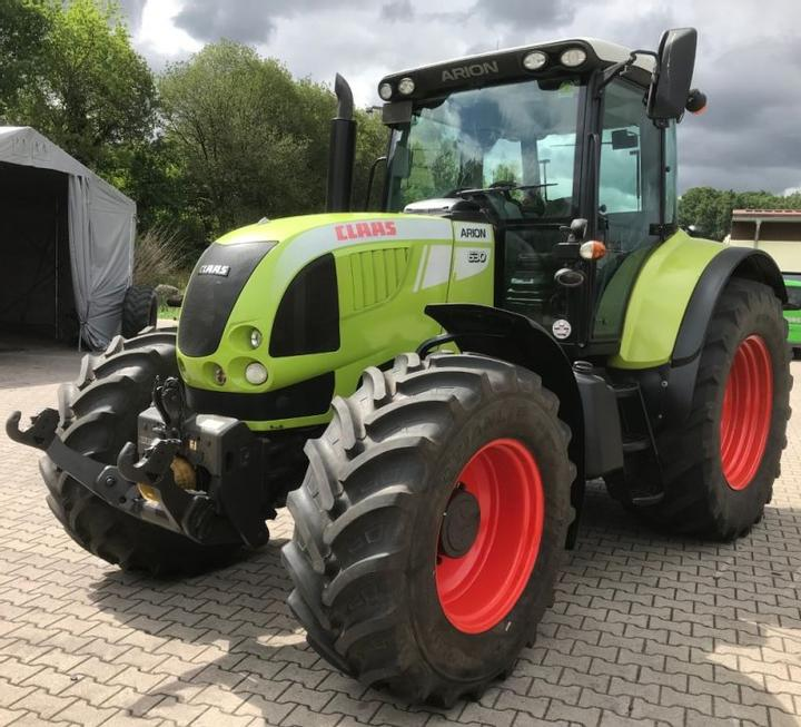 Claas ARION 630 A mit FKH & FZW