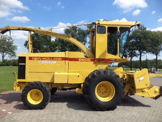 Lieblings New Holland Feldhäcksler gebraucht - traktorpool.de #RI_51