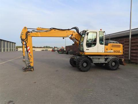 Gebrauchte Liebherr Bagger Traktorpoolde