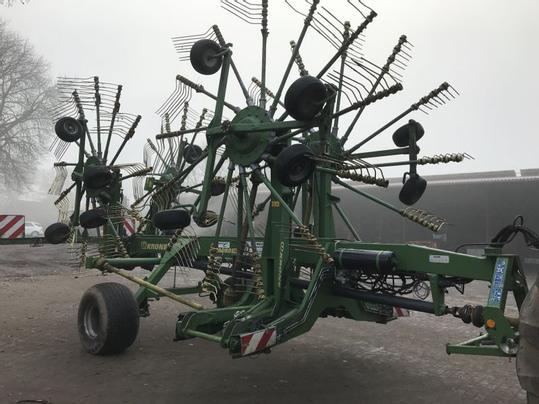 Gebrauchte Krone Swadro 1400 Traktorpoolde Traktorpoolde