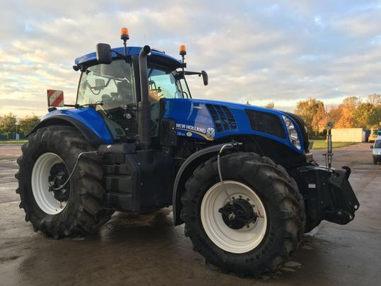 New Holland Traktor gebraucht - traktorpool de